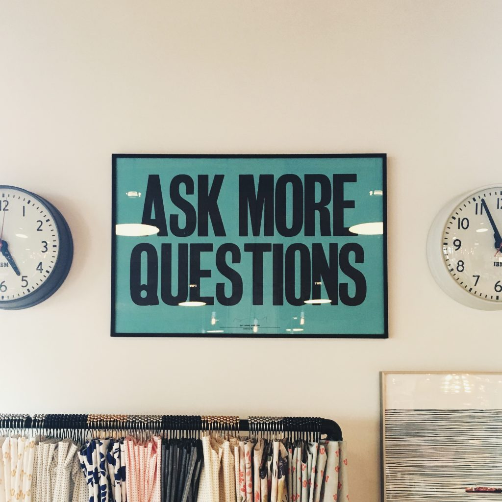 ask more questions, by Jonathan Simcoe